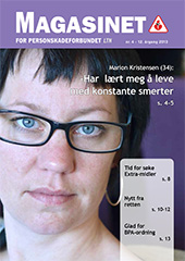 Magasinet for Personskadeforbundet LTN nr. 4 &#8211; 2013