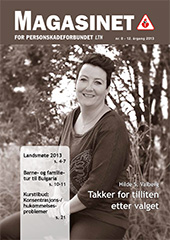 Magasinet for Personskadeforbundet LTN nr. 8 - 2013